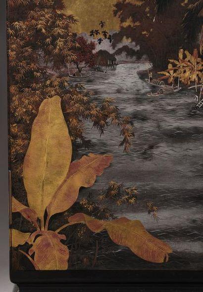 Nguyen Van Rô (1921-1997).  Professeur à l'école des Beaux-Arts de Gia Dinh  Section...