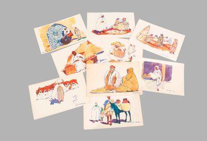 [ALGERIE]  Cartes postales de Collection...