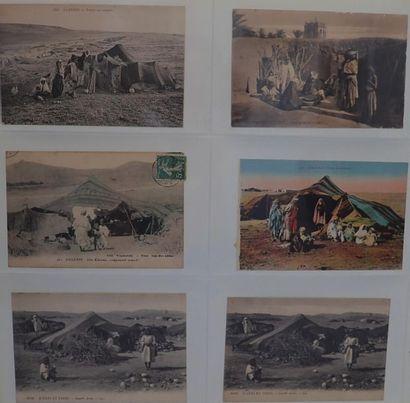 [ALGERIE]  Scènes et types de l'Algérie (1900-1920)...
