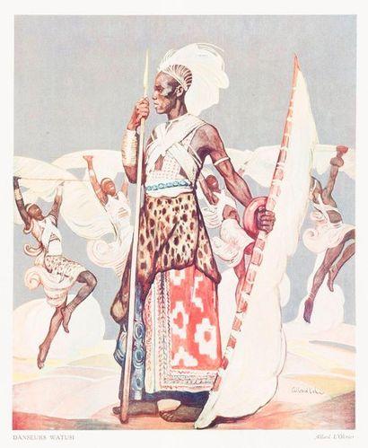 [AFRIQUE]  1931  Allard L'OLIVIER (1883-1933)...