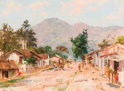 Maurice LÉVIS (1860-1940)  Kandy (Ceylan)....