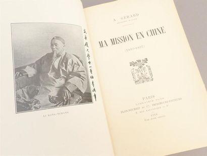 GERARD (A.), Ma mission en Chine (1893-1897),...