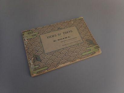 [JAPON]  1895  Kazumasa Ogawa,  Views of...