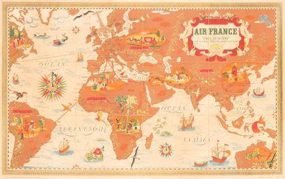 Lucien BOUCHER (1889-1971)  Air France- Nova...