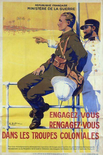 Georges-Pierre DUTRIAC (1866-1956)  Engagez-vous,...
