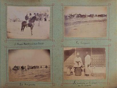 1895. Anonyme.  Sénégal, c.1895  Album oblong...