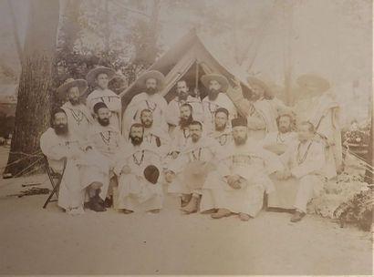 **1899-1905. Album d'un père blanc missionnaire...