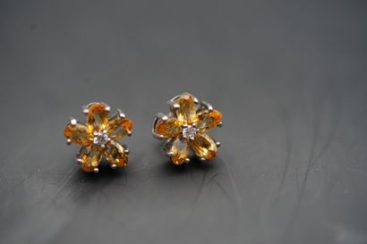 Paire de boucle d'oreilles, bijoux fantaisie,...