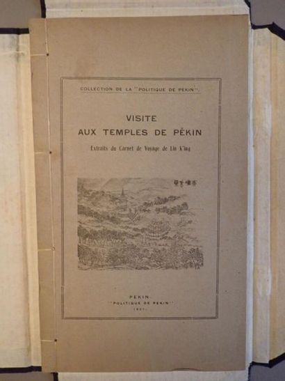 LIN K'ING, Visite aux temples de Pékin, extraits...