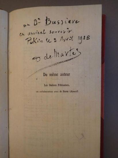 DAMIEN (Ch.), L'orage dans le steppe, roman...