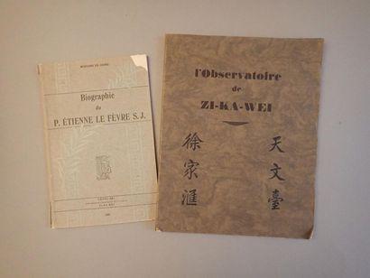 [LEJAY (P. Pierre)], L'observatoire de Zi-Ka-Wei,...