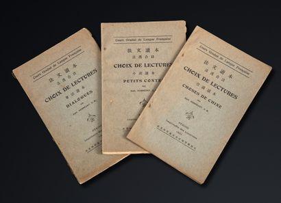 HUBRECHT (Alph.), lot de 3 ouvrages éducatifs...