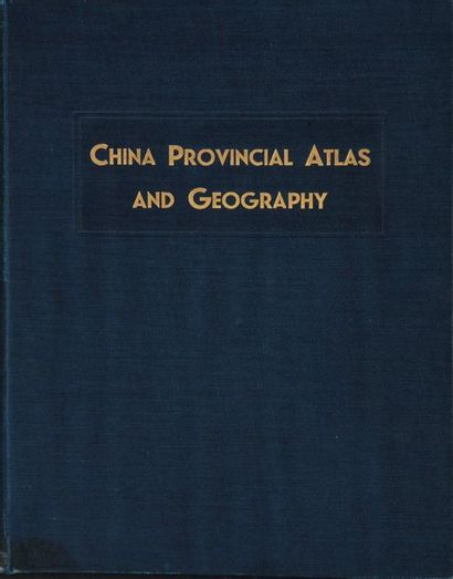 China Provincial Atlas and Geography,  Shanghai,...