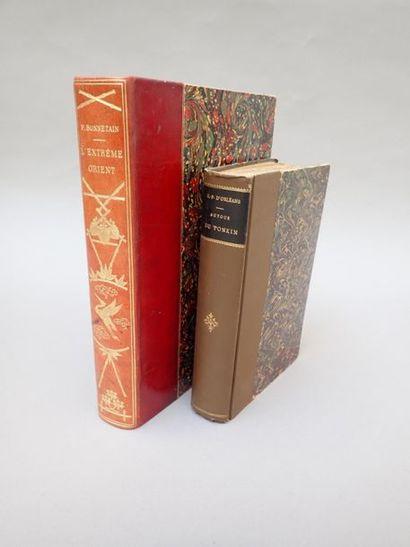 1894  Un ensemble de trois ouvrages sur l'Indochine....