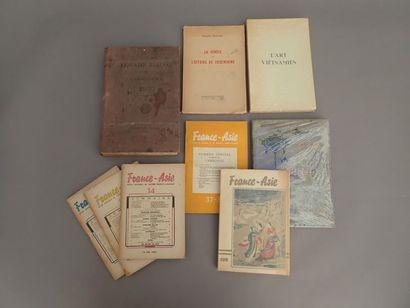 INDOCHINE  1910  Un ensemble de monographies...