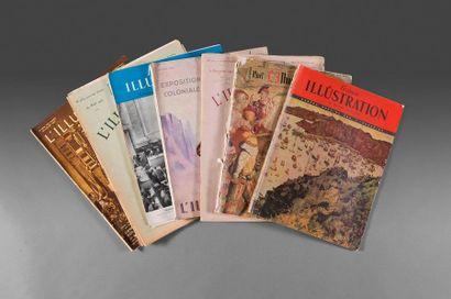 1926  Ensemble de 8 magazines sur le thème...