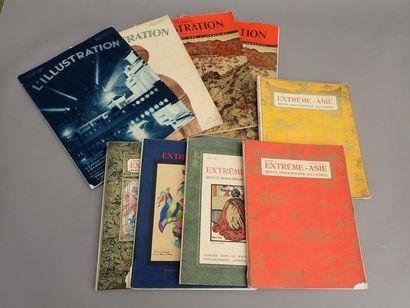 1927  Un ensemble de revues, magazines et...