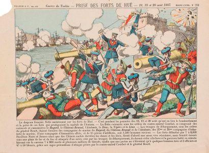 Guerre du Tonkin - Prise des Forts de Hué...