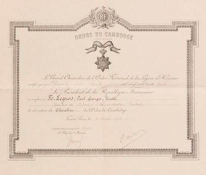 1938. Ensemble de deux brevets:  - Titre...