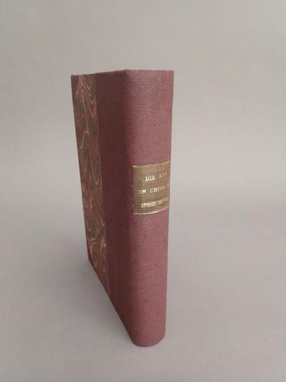 1877  John THOMSON  Dix ans de voyages dans...