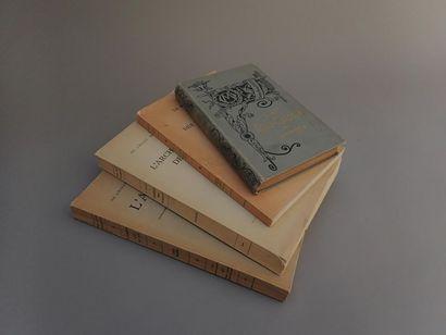 [EXTRÊME-ORIENT]  1894  Quatre monographies...