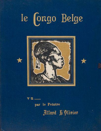 [AFRIQUE]  1931  Fernand Allard L'OLIVIER...