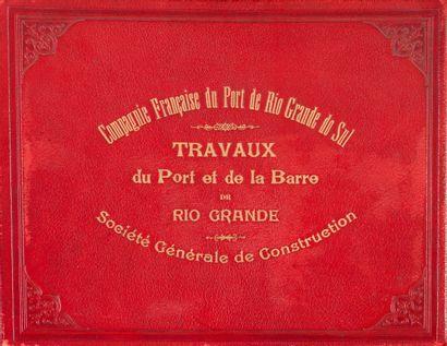 1915.  Compagnie Française du Port de Rio...