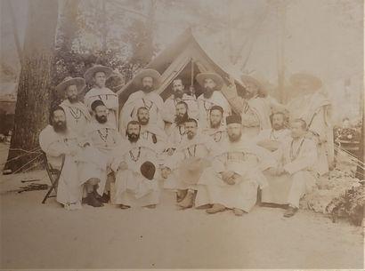 Lot sur l'Afrique:  - 1899-1905. Album d'un...
