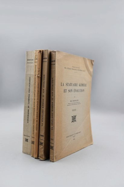 1943-1946  [CAMBODGE]  Lot de 4 ouvrages...