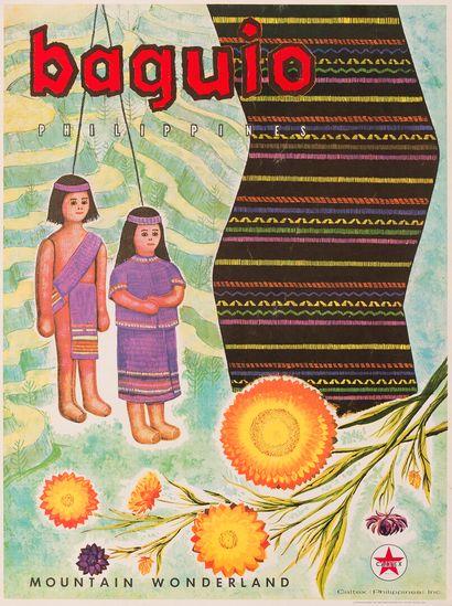 Baguio Philippines  Mountain Wonderland  Affiche...