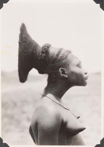 [AFRIQUE]  1924  Clichés photographiques...