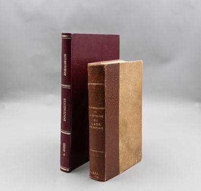1925  [LAOS]  Lot de 2 ouvrages :  COEDES...