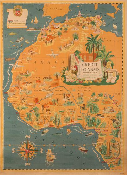 Lucien BOUCHER (1889-1971).  Afrique du Nord...