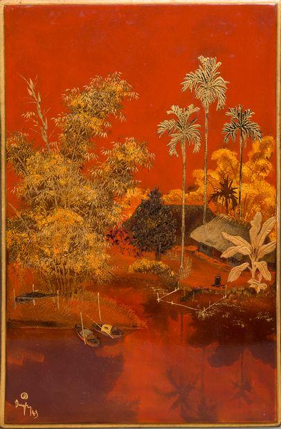 Tran Phuc Duyen (1923-1993)  Ecole des Beaux-Arts...