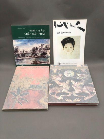 1963  Trois ouvrages sur l'Art au Vietnam...