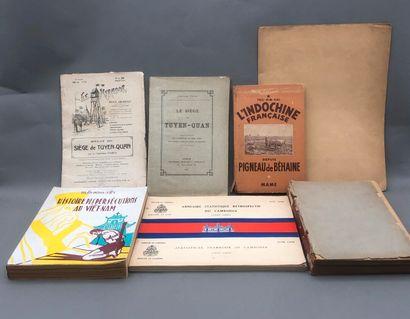 1920  Un lot de documentation historique...