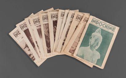1942  Indochine, Hebdomadaire illustré, un...