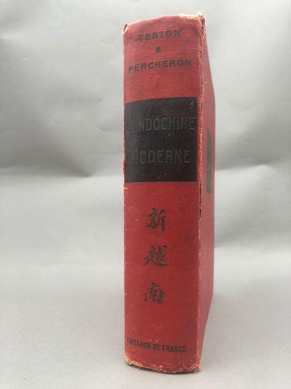1929  TESTON et PERCHERON  L'Indochine moderne....