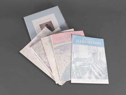 1929  5 numéros du magazine l'Illustration...