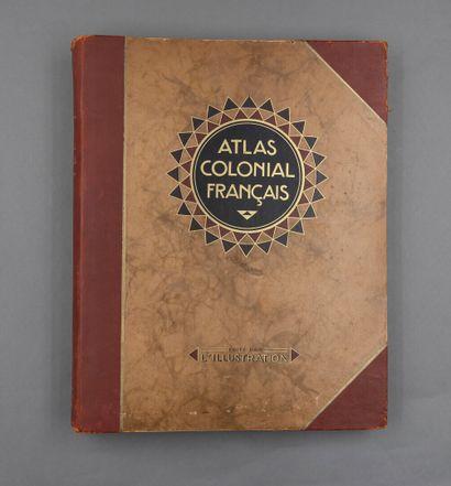 Lot de deux atlas:  - 1902.  Paul Pelet....