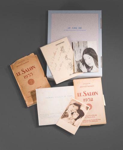 1939  Lê Van Dê.  Ensemble de documents introuvables...