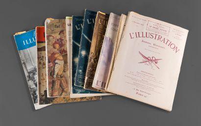 1929  Lot de documentation sur les Beaux-Arts...
