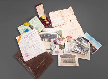 1946.  Souvenirs d'Indochine de la famille...