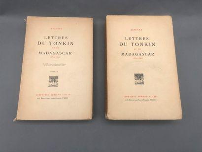 1920. LYAUTEY Hubert : Lettres du Tonkin...