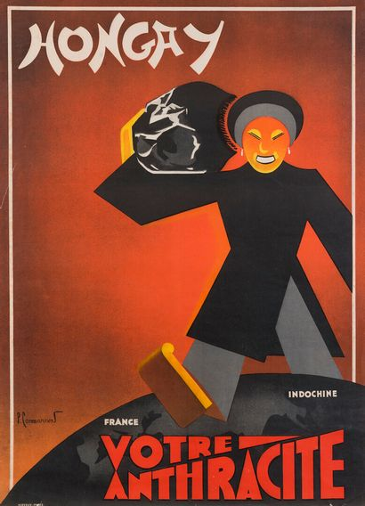 1930.  HONGAY, VOTRE ANTHRACITE - Indochine-France....