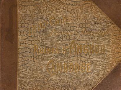 1909  Pierre Dieulefils.  L'INDO-CHINE PITTORESQUE...
