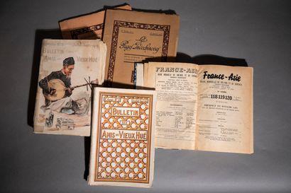 1919  Bulletins des amis du Vieux Hué.  6e...