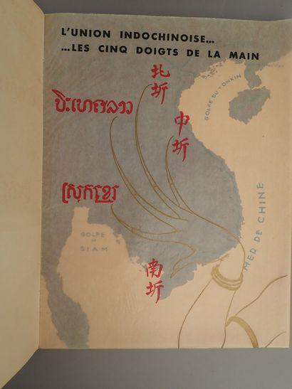 1940  INDOCHINE  Brochure éditée par l'Office...