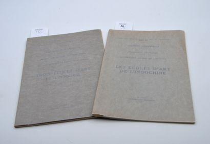 1931  Deux brochures sur les écoles d'Art...