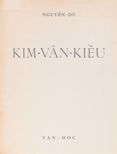 1951  Nguyen Du  Kim Van Kieu (Chef-d'oeuvre classique de la littérature vietnamienne)....